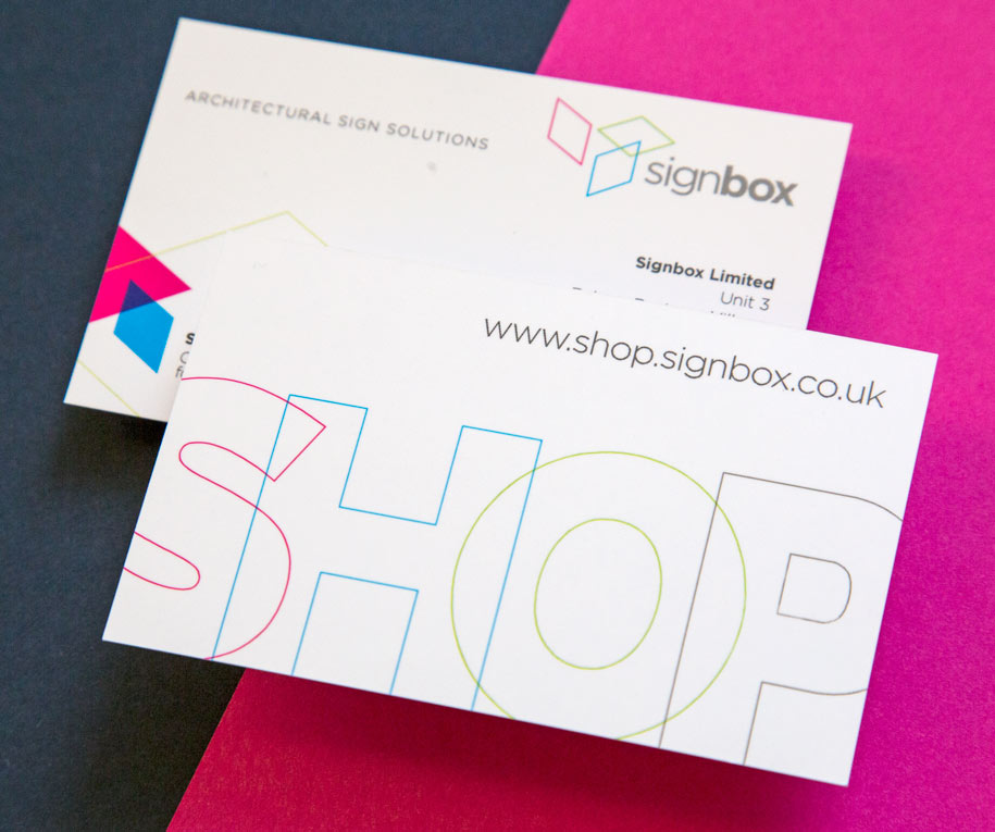 Signbox business card