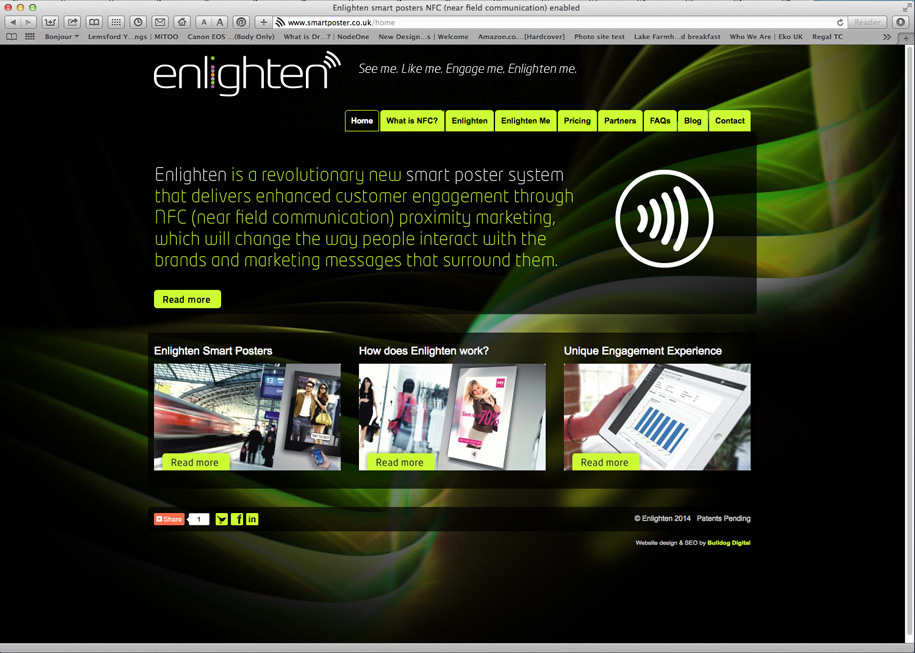 Enlighten website