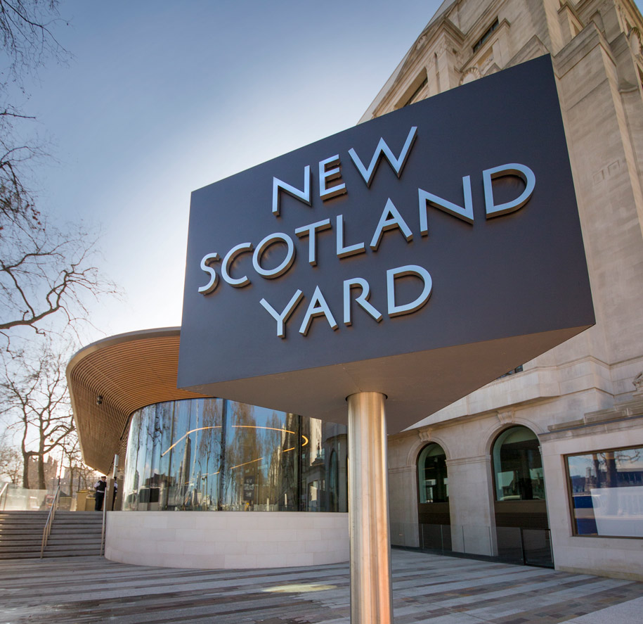 New Scotland Yard Exterior