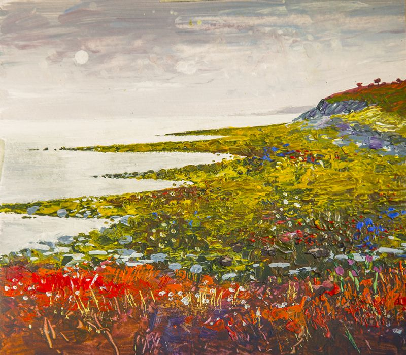 South to Uig. Artist, Paul Hillary